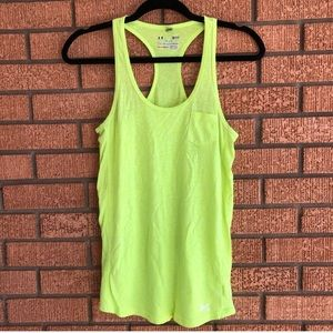 Under Armour Neon Burnout Tank Top sz Small